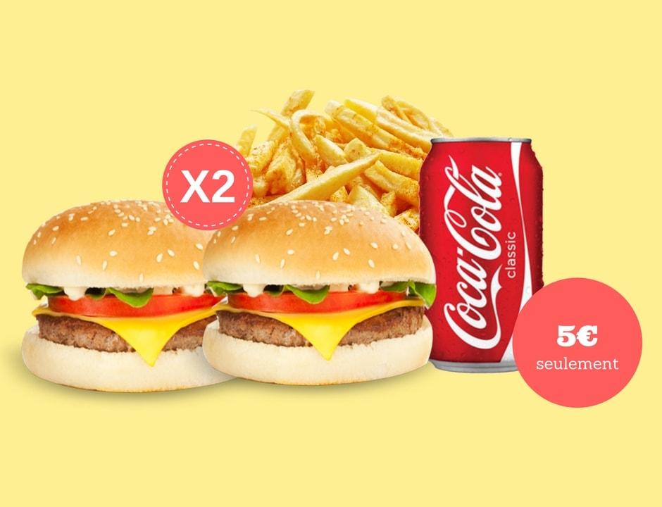 Duo burger